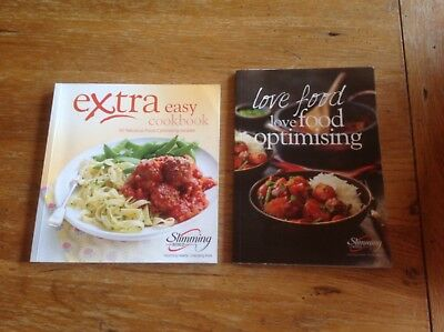 Slimming World Food Optimising Book and extra easy cookbook