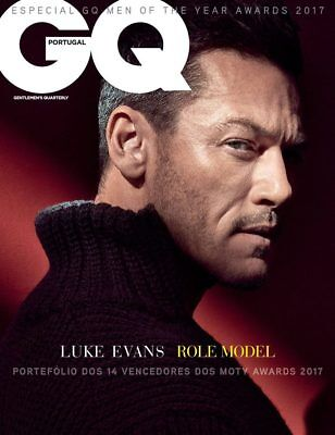 Luke Evans cover GQ PORTUGAL December / January 2018