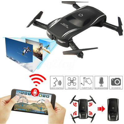 Mini Drone RC Quadcopter Wifi HD Camera Portable Selfie Cam UFO Multicopter New