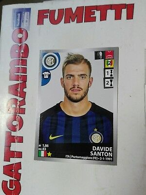 SANTON new INTER FIGURINA PANINI CALCIATORI 2015-16 2016 N.278