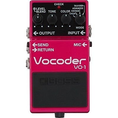 BOSS VO-1 Vocoder Guitar effector Free Shipping with Tracking# New from Japan