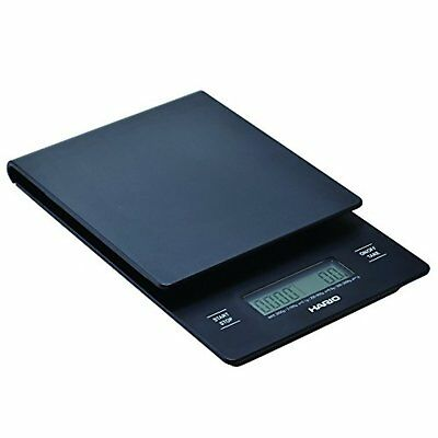 Hario Coffee Drip Scale/Timer V60 VST-2000B Black F/S w/Tracking# New from Japan
