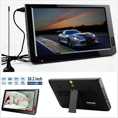 10.2'' 12V Portable DVB-T2 TFT HD TV Digital Analog Television Car Video Player