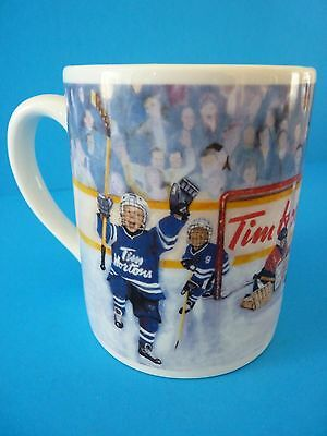 Tim Hortons Winning Goal Hockey Limited Edition Coffee Mug Collector Series #002