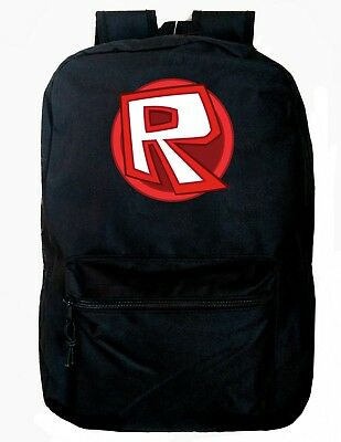 Roblox Backpack Black School Bag Gamers Great Christmas Gift New!