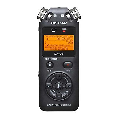 TASCAM DR-05 Linear PCM Portable Digital Recorder F/S w/Tracking# New from Japan