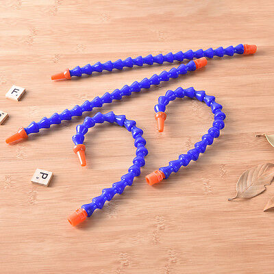 6 x 30cm Plastic Flexible Water Oil Coolant Pipe Hose New* 2-7k