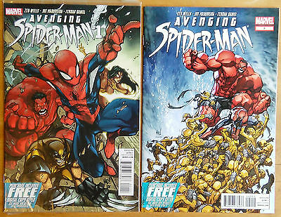 Avenging Spider-Man # 1 And # 2