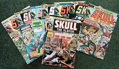 Skull The Slayer 1 Thru 8 - Complete Marvel 1976 Series