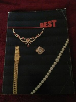 Vintage 1985/1986 BEST Products Catalog 1980s Jewelry Home Gifts Electronics