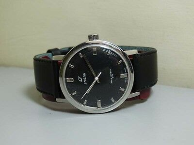 Vintage Enicar Winding SWISS Made Wrist Watch Old USED Antique e717 Superb
