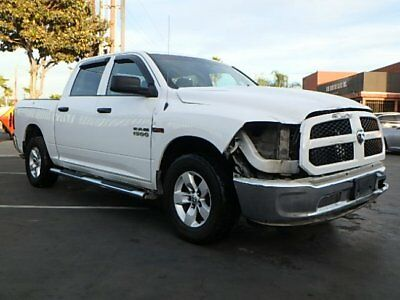 2015 Dodge Ram 1500 Crew CabTradesman 2015 Dodge Ram 1500 Crew Cab Tradesman DIESEL Damaged Salvage Perfect Project!