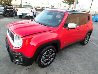 2017 Jeep Renegade Limited 2017 Jeep Renegade Limited CLEAN TITLE! Wrecked Repairable! Priced To Sell! L@@k