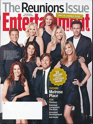 Entertainment Weekly Magazine October 12th19th 2012 Melrose Place Clueless Arre