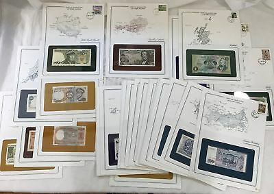 "39 Pc. Collection of Worldwide Currency - ""Official Banknotes of Every Nation"""