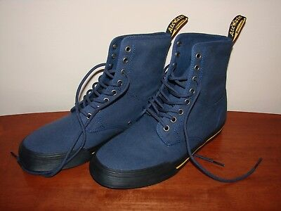 fe7e5a5f DR. MARTENS AIR Wair Winsted Canvas Boots Men's Size 8 - Indigo/Blue ...