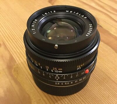 Leica 28mm R Elmarit f2.8 in Excellent ++ condition