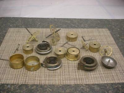 Antique New Haven Brass Watchmaker Parts Main Secondary Gears Barrels  E635