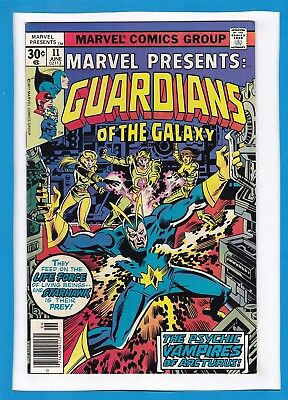 Marvel Presents #11_June 1977_Very Fine_Guardians Of The Galaxy_Bronze Age!