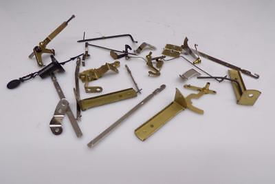 Lot Brass Wall Clock Hanger Pendulum Leaders Assortment Movement Parts  E578f