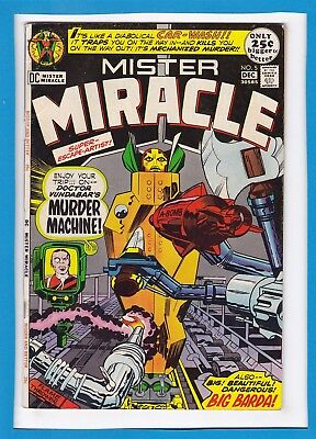 Mister Miracle #5_December 1971_Fine/very Fine_Jack Kirby_Bronze Age Dc Giant!