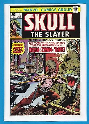 Skull The Slayer #1_August 1975_Nm Minus_Fear-Fraught First Issue_Bronze Age!