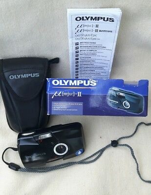 Olympus µ [mju:]-II 2,8/35mm all weather Stylus Epic kamera camera ovp tested