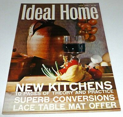 Ideal Home VINTAGE RETRO MAGAZINE July 1965