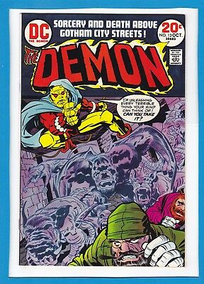 """The Demon #13_October 1973_Very Fine+_""""the Night Of The Demon""""_Jack Kirby!"""