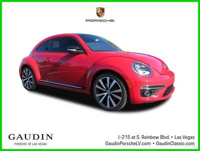 2014 Volkswagen Beetle - Classic 2.0T R-Line 2014 2.0T R-Line Used Turbo 2L I4 16V Automatic FWD Hatchback Premium