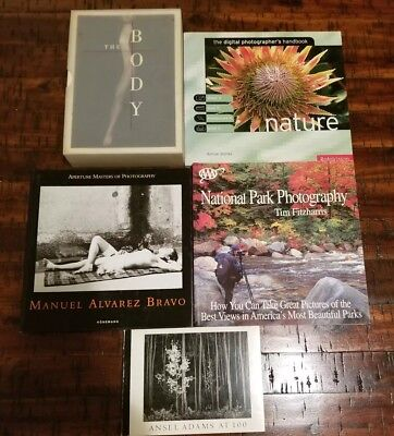 Lot Of 5 Photography Books
