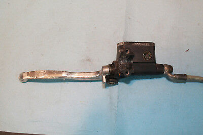 1999 Ducati 750 Monste clutch master cylinder and lever and hose