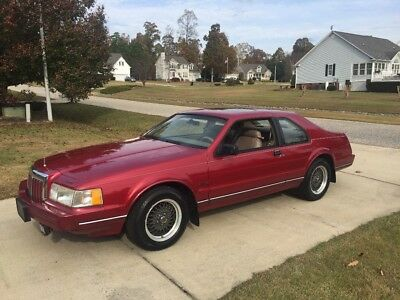 1992 Lincoln Mark Series  1992 LINCOLN MARK LSC 52k MILES, SPECIAL EDITION V8 5.0 LITER, VERY RARE