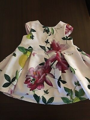 Girls Ted Baker 6-9 Months Dress Used