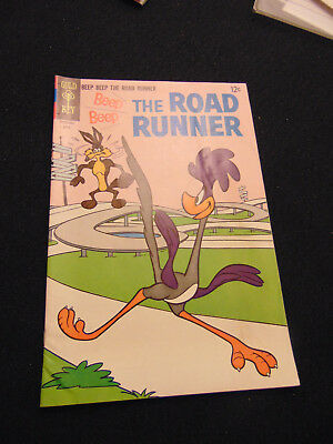 BEEP BEEP THE ROAD RUNNER #7 (Apr 1968, Western Publishing) .99 start NO RESERVE
