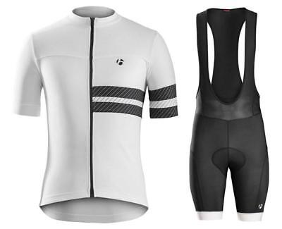 Pearl Izumi Cycling Clothing Jersey & Bib Shorts Kit Sets Coolmax Padding 2#