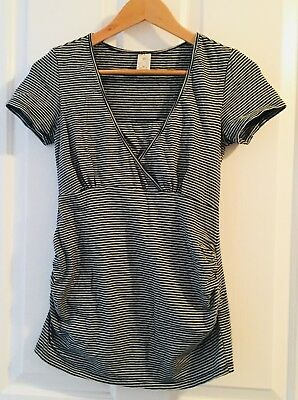 Target Maternity/feeding Top, Black Stripe, Size 10, Great Condition!!