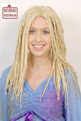 Ladies/Mens Blonde Rasta Deadlock Wig Surf, Hippy, Fancy Dress.FREE FREIGHT!!!!!