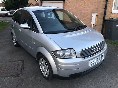 2004 Audi A2 1.4 Petrol Silver Low Milage