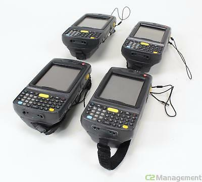 Lot of 4 Symbol MC7090 Barcode Scanners No Batteries