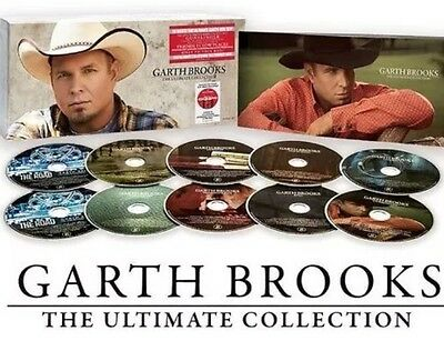 Garth Brooks - 10 CD Disc Set -The Ultimate Collection - Music - New  Sealed