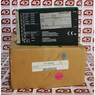 Schroff 11006-261 Power Supply SPG 105 - Used