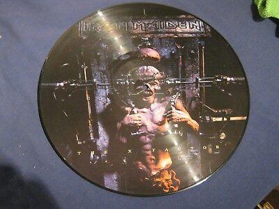 iron maiden the x factor picture disc, 2002 Brazil unofficial