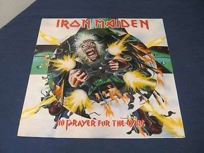 """Iron Maiden No Prayer For The Dying 12"""" Picture Disc Vinyl Record LP"""