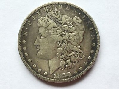 1880 US Morgan dollar.  137 years old.