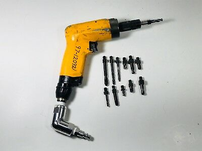 Atlas Copco Industrial Quality Drill 6000 Rpm with Boeing Chuck Aircraft Tool.