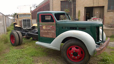 1947 Diamond T G80  1947 Diamond T Truck, Model 404 HH, Heavy, Two-speed rear axle
