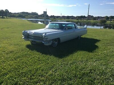 1963 Cadillac Deville coupe