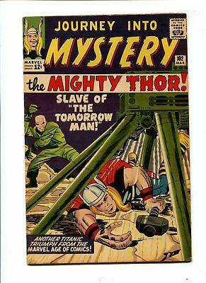 Journey into Mystery #102 VINTAGE Marvel KEY 1st Lady Sif 12c Silver Thor Comic