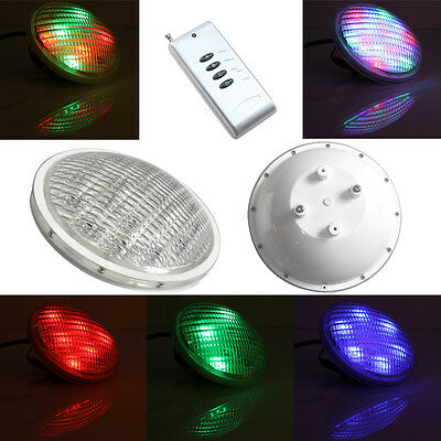 Led Pond Lights Underwater RGB PAR56 AC/DC 12v Swimming Pool Light +Remote